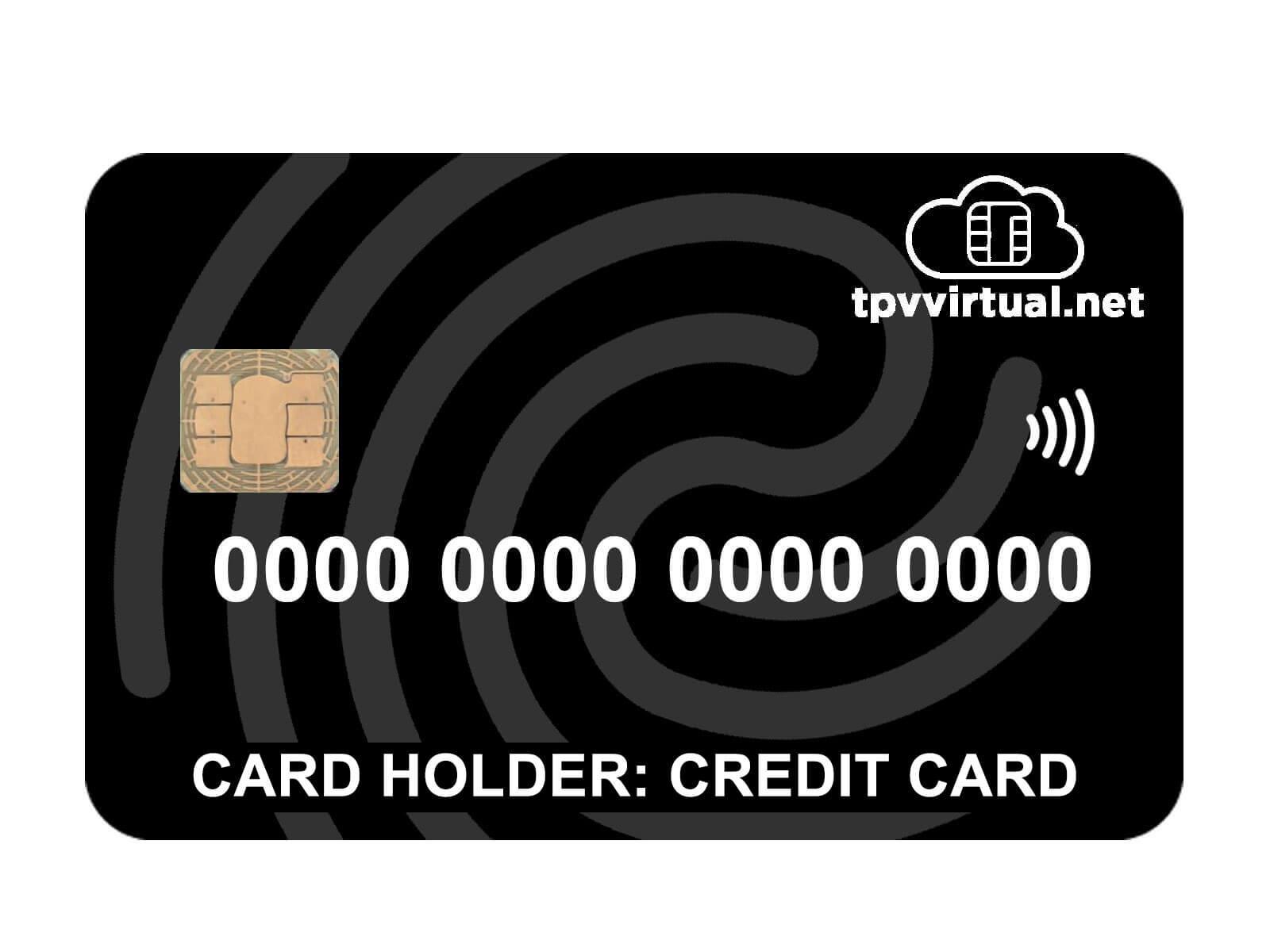Cardholder credit card