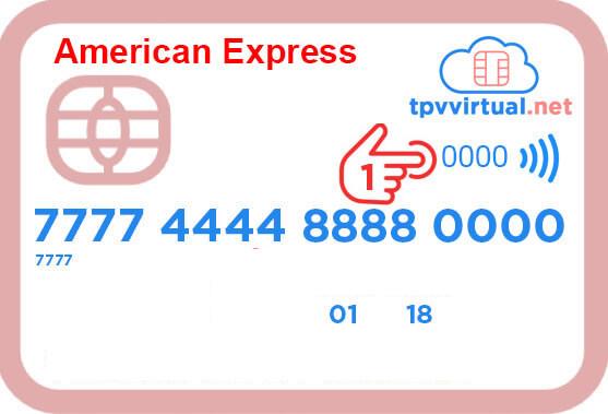 CVC number AMEX card