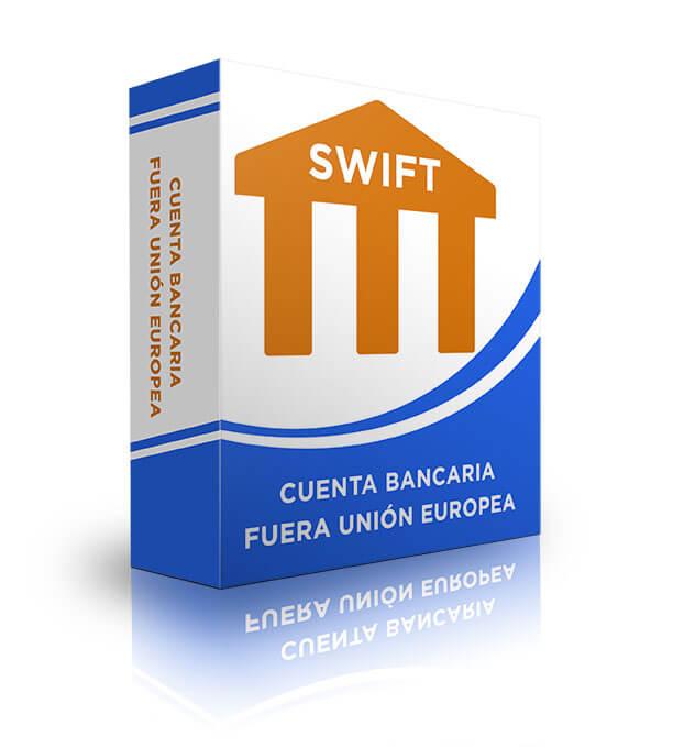 Cuenta bancaria fuera de la Unión Europea SWIFT