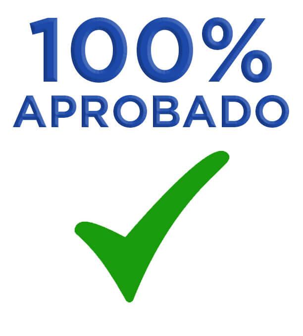 100% aprobado